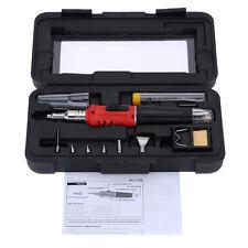HS-1115K Professional Butane Gas Soldering Iron Kit Welding Kit Torch SH U7 A3K8