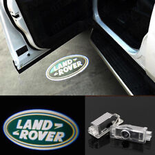 2x Laser Logo Door Lamps Puddle Courtesy Projector Shadow Lights For Land Rover