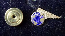 VINTAGE PAN AM STERLING SILVER PIN. Early Logo - Pre 1960.
