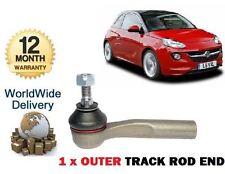 Pour Vauxhall Opel Adam 1.2 1.4 2012 -- & gton 1x outer tie rod end rack piste