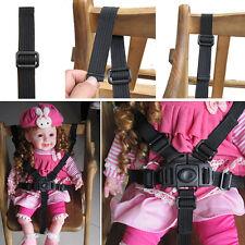 Baby-Kind-5-Punkt-Gurt Kinderwagen Hochstuhl Pram Buggy Auto sicher Gurt-Bügel~