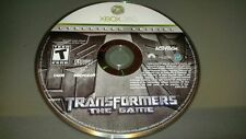 Transformers: The Game Cybertron Edition GAME (Xbox 360) **FREE SHIPPING!! RARE!