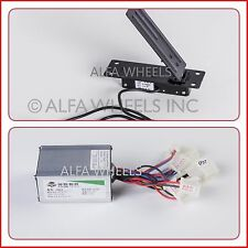 250 Watt 24 Volt Controller & Foot Pedal Throttle f eCart gokart electric motor