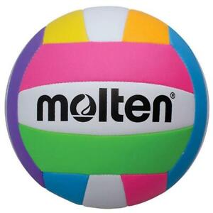 Molten MS-500 Neon Beach Volleyball Size 5