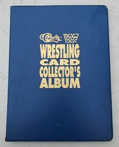 1990 Classic WWF Card Collector's Album 150 Card Set  w/ 5 Purple Cards-Most NM