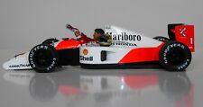 1/43 Ayrton Senna McLaren Honda figurine figure Sitting in the cockpit 1990 1991