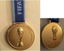 Russia 2018 FIFA World Cup Collectible Medal with Ribbon !!!