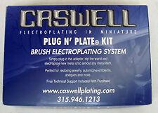 Caswell Plug N' Plate® Electroplating - Plug N' Plate® Nickel/Gold Kit
