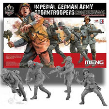 MENG 1/35 IMPERIAL GERMAN ARMY STORMTROOPERS READY TO ASSEMBLE KIT - HS010