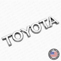 For Toyota Letter Trunk Lid Liftgate Tailgate Car Emblem Badge Logo Chrome