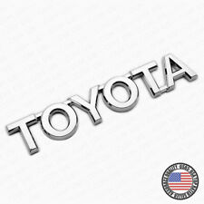 For Toyota Letter Trunk Lid Liftgate Tailgate Car Emblem Badge Logo Chrome