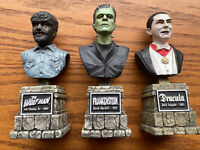 Universal Monster Legacy Mini Bust Collection: Dracula, Frankenstein & Wolf Man