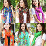 Hot Stylish Women's Long Shawl Stole Scarves Soft Chiffon Scarf Wraps