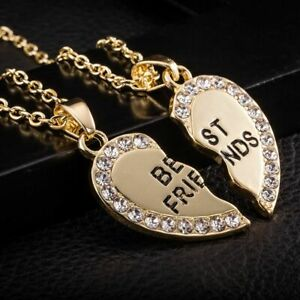 best friends necklaces for each of you so 2 necklaces bargain