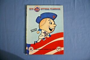 1976 New York Mets Official Yearbook revised Ex condition