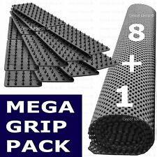 8 Mat Grips + Gripper Roll * Non Slip Carpet Rug Mat Runner Drawer Dining Table
