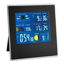 Station météo sans fil Gallerie noir TFA 35.1126 humidité de l'air Ecran couleur
