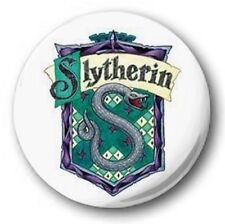SLYTHERIN LOGO -1 inch / 25mm Button Badge- Harry Potter Hogwarts Gryffindor