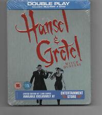 HANSEL & GRETEL - ENTERTAINMENT STORE UK STEELBOOK, 1000 ISSUED / NEW & SEALED