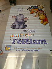 AFFICHE WINNIE POOH'S HEFFALUMP MOVIE Walt Disney 4x6 ft Bus Shelter Poster 2005
