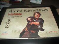 """COFFRET LIVRE + DVD """"AKIRA KUROSAWA : LES FILMS HISTORIQUES / LA VOIE"""""""