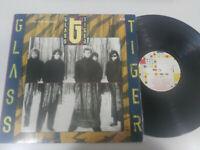 "Glass Tiger The Thin Red Line 1986 Edicion España vinyl 12 "" LP Heavy Rock"