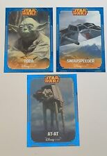 Lot Of 3 Star Wars ESB Disney Store Exclusive Trading Cards