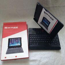 Snugg Apple iPad Air Black Bluetooth Smart Keyboard 360* Rotate Screen Folio Cas