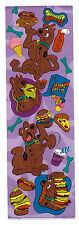 "SANDYLION Sticker Sheet ""Scooby Doo"" Purple Background Scooby Snacks"