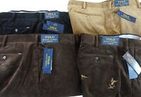 NWT Polo Ralph Lauren BROWN, BLACK Corduroy Pants Big and Tall MSRP $125