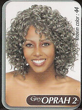 Vanessa Medium Curly Oprah 2 Gray Wig