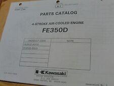 kawasaki FE350D -AS00 BS00  4 stroke liquid cooled  ILLUSTRATED PARTS CATALOG