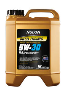 Nulon Full Synthetic Diesel Performance Engine Oil 5W-30 10L fits Volvo C30 1...