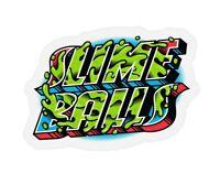 "Slime Balls Santa Cruz Greetings From Logo Skateboard Sticker Decal 3.5"" New"