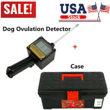 New listing Dog Ovulation Detector Tester Pregnancy Automatic Test Canine Mating & Case Us