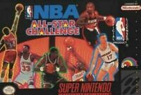 NBA All Star Challenge - Nintendo SNES Game Authentic