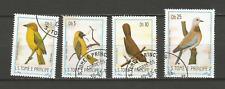 1983 oiseau Sao Tomé-et-Principe 4 timbres anciens oblitérés /T4370