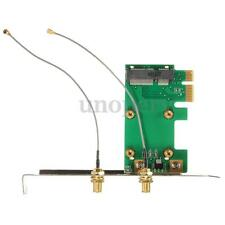 Mini PCI-E To PCI-E Wireless WIFI Adapter Convertor Card Network For Desktop New