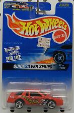 # 1 RED CHEVY STOCKER NASCAR RACE CAR 1997 QUICKSILVER SERIES HW HOT WHEELS