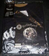 Motorhead  The World Is Yours CD & DVD + Shirt NEW Rare