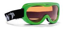 DMN Snow 6 Single junior green fluo safety Skibrille Snowboardbrille