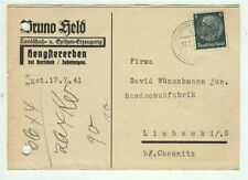 Cover C27 Germany 1941 Reich postcard
