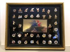 1984 Los Angeles Limited Edition Olympic 38 Pin Set Sam The Eagle Set Series 1!