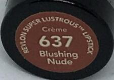 Revlon Super Lustrous Lipstick 637 (Blushing Nude) NEW SEALED