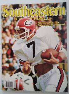 Southeastern Football Mag Vtg 1978 Rare VHTF SEC NFL UGA Pyburn Bama LSU Girls