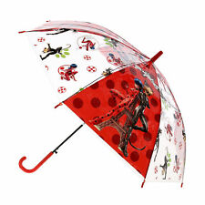 New Textiel Trade Kid's Miraculous Ladybug Fight Evil Stick Umbrella