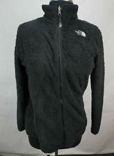 The North Face Furry Fleece Full Zip Warm Jacket Black Girls XL