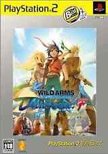 Wild Arms Alter Code: F The Best  PlayStation2 Japan Ver.