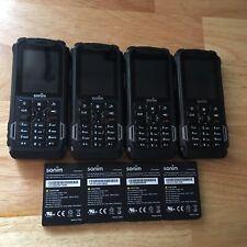 Lot of 4 - Sonim Xp5700 At&T Waterproof Phones - Black , Clean Imei, *Read Desc!