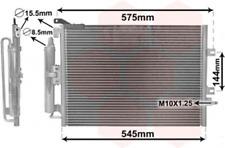 Kondensator, Klimaanlage für Klimaanlage VAN WEZEL 43005417